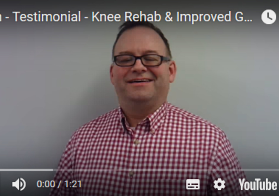 Alun - Knee Rehab & Improved General Mobility