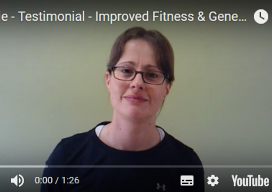 Lizzie - Improved Fitness & Mental Wellbeing