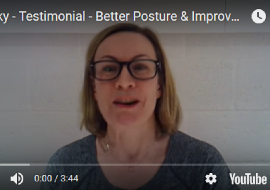 Becky - Better Posture & Improved Back Health