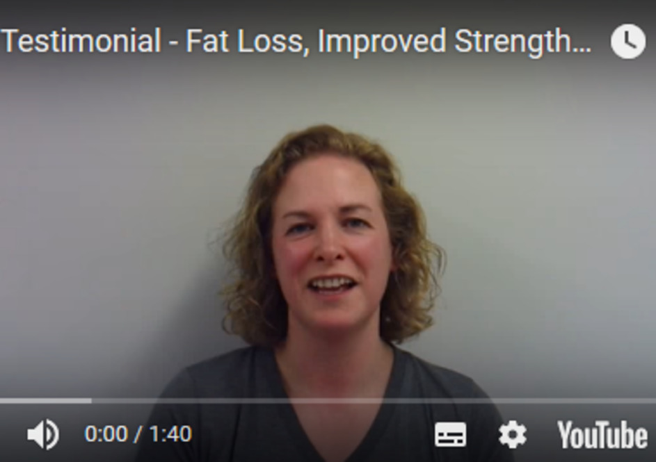 Jo - Fat Loss, Improved Strength & Fitness