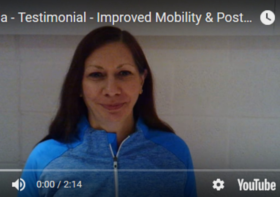 Linda - Improved Mobility & Posture